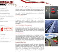 Renewable Energy Planning Website
