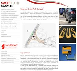 Swept Path Analysis Website