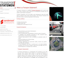 Transport Statement Website