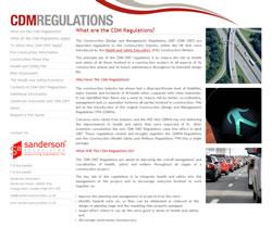 CDM 2007 Regulations