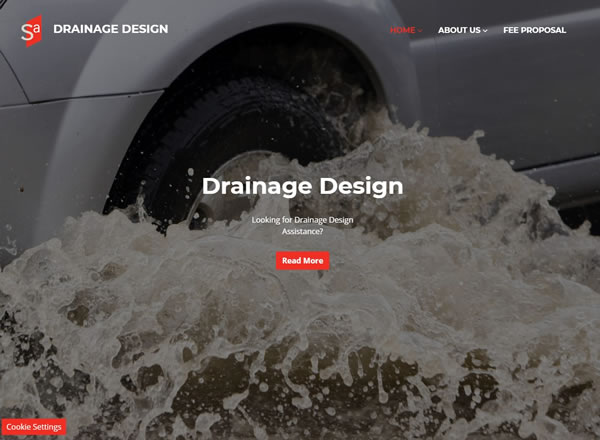 Drainage Design Website