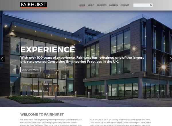 Fairhurst Website