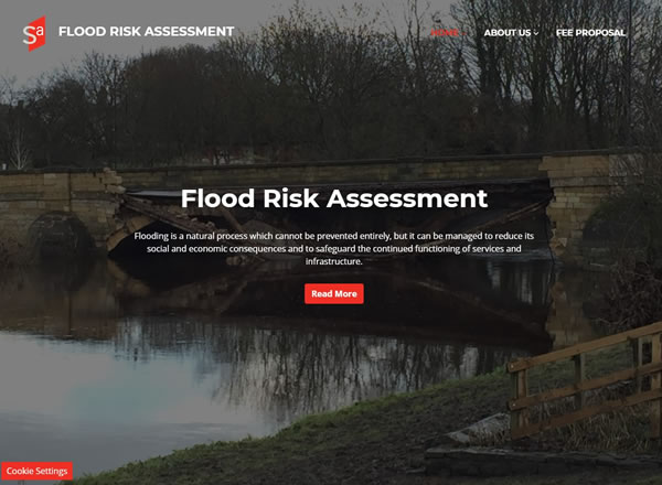 Flood Risk Website