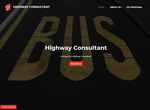 Highway Consultant Website