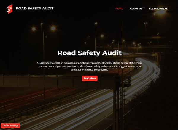 Road Safety Audit Website