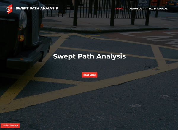 Swept Path Analysis Website