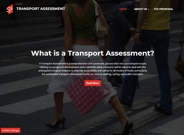 Transport Assessment Website