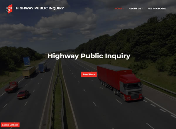 Highway Public Inquiry Website