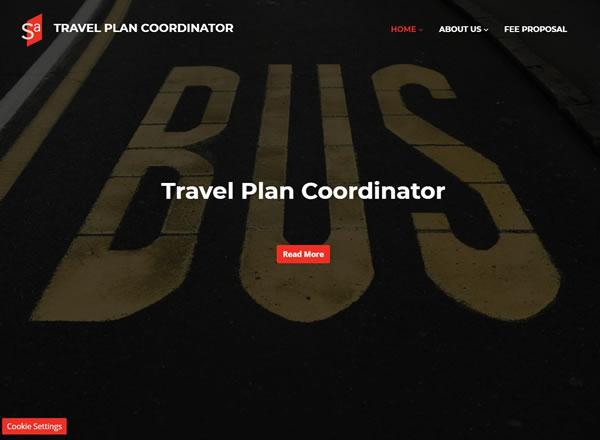 Travel Plan Coordinator Website